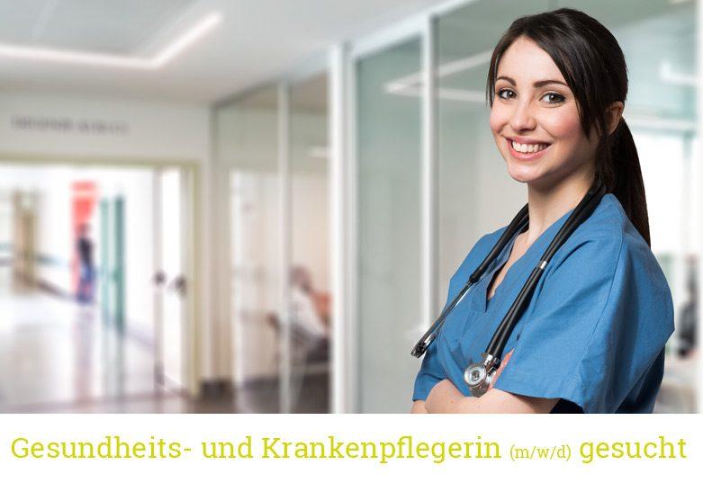 Krankenschwester Stellenangebot